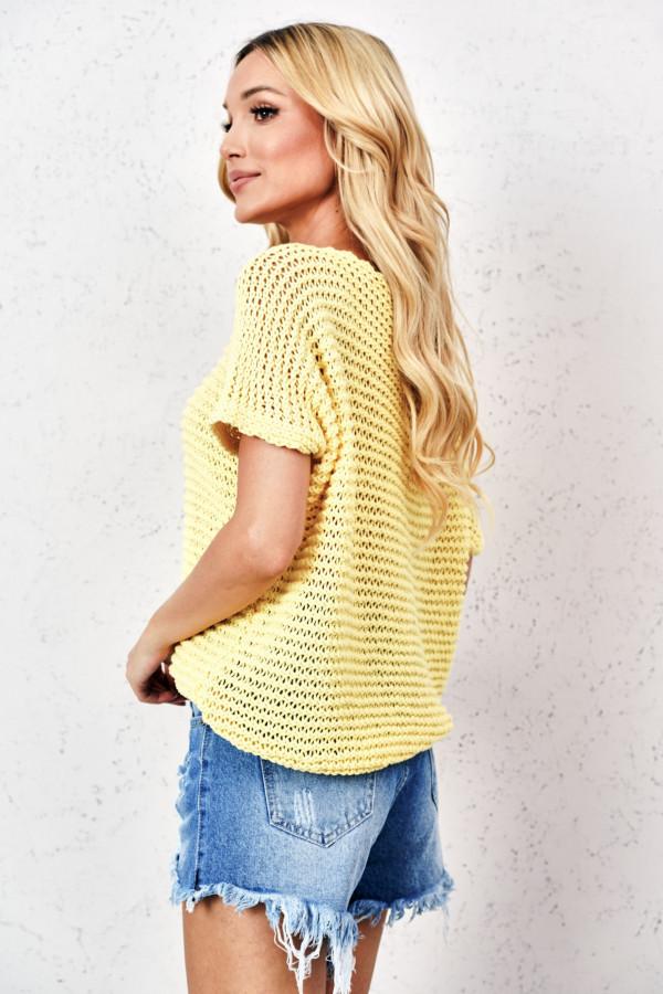 Sweter ażurowy KIASMOS 3