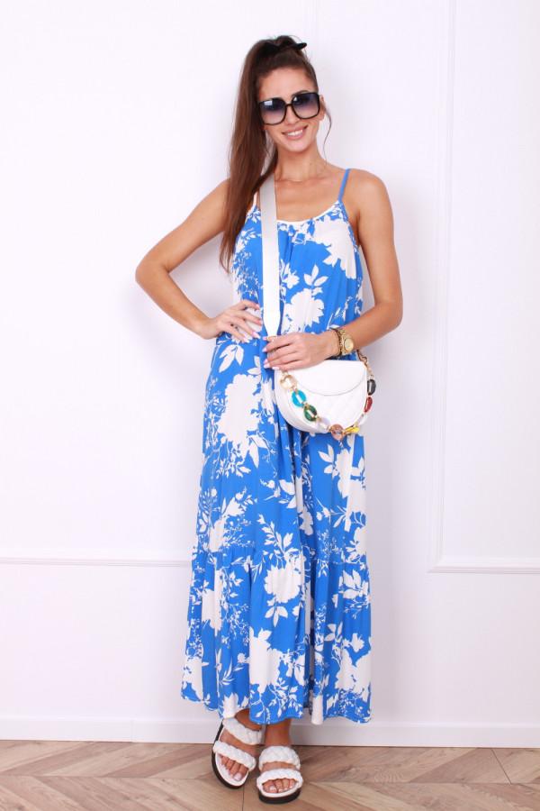 Sukienka maxi w kwiaty AMELIA