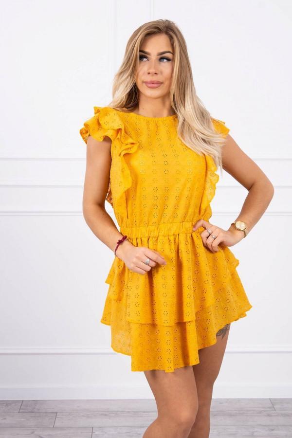 Sukienka haft z falbanami SALMA 1
