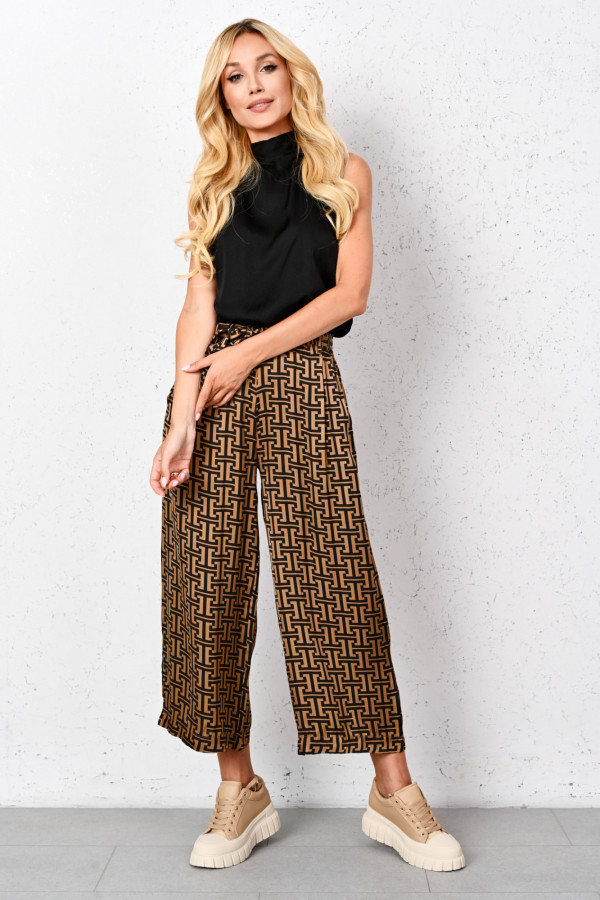 Komplet damski spodnie i top VANESSA