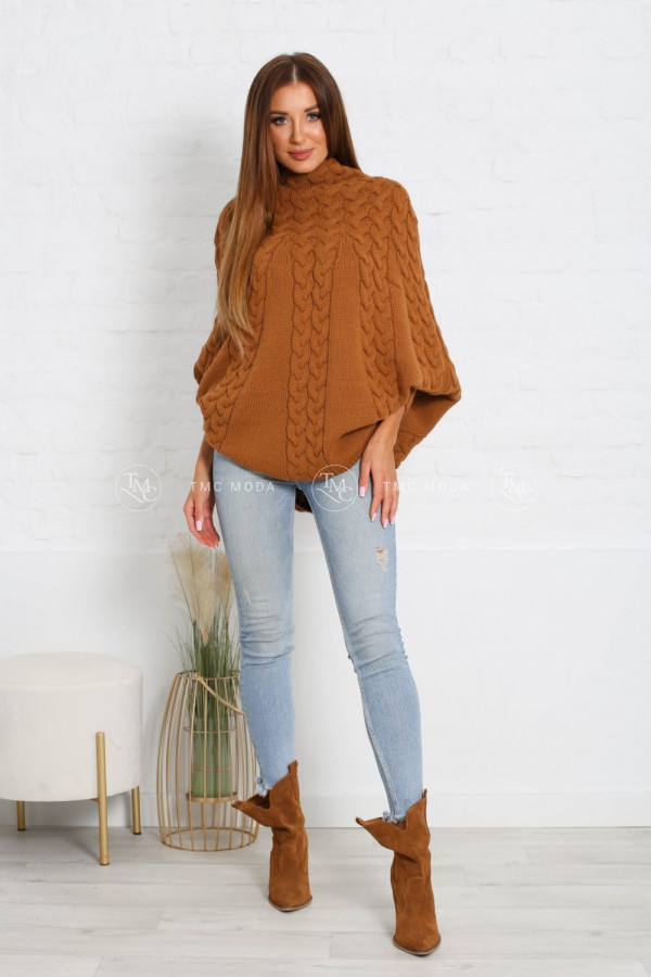 Sweter ponczo LENNY 1