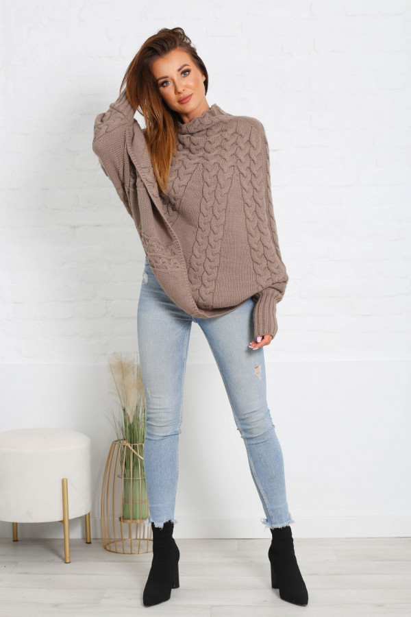 Sweter ponczo LENNY