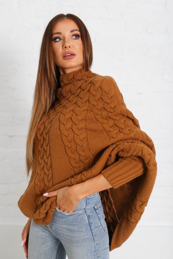 Sweter ponczo LENNY 2