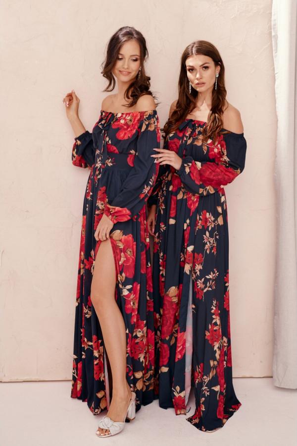 Sukienka hiszpanka maxi LEXI