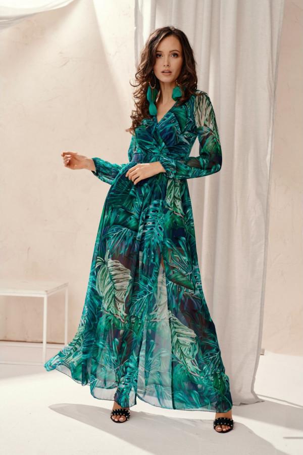 Sukienka maxi w liście PALOMA