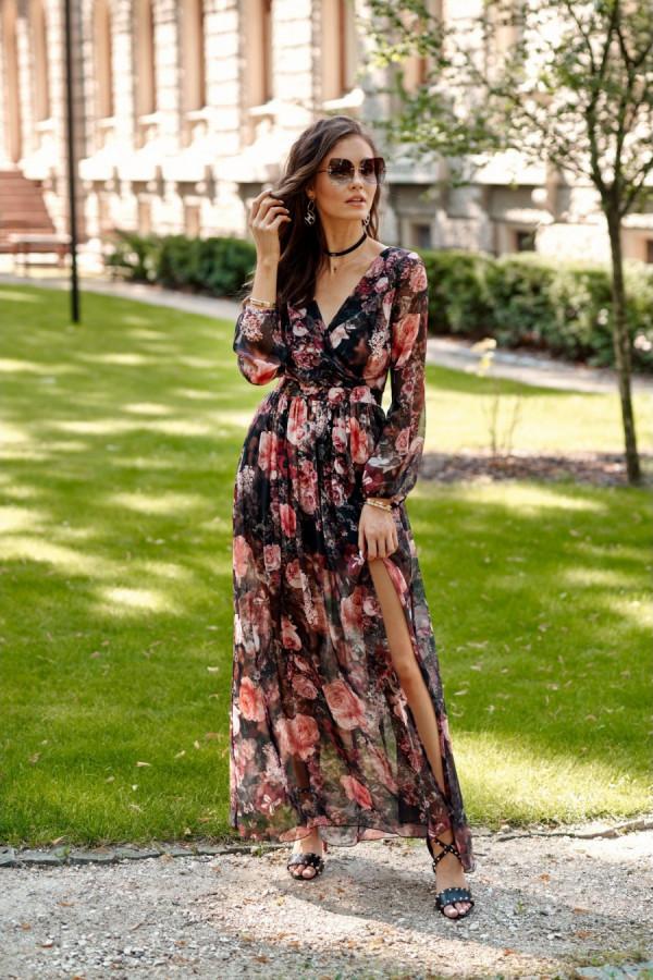 Sukienka maxi w kwiaty PALOMA