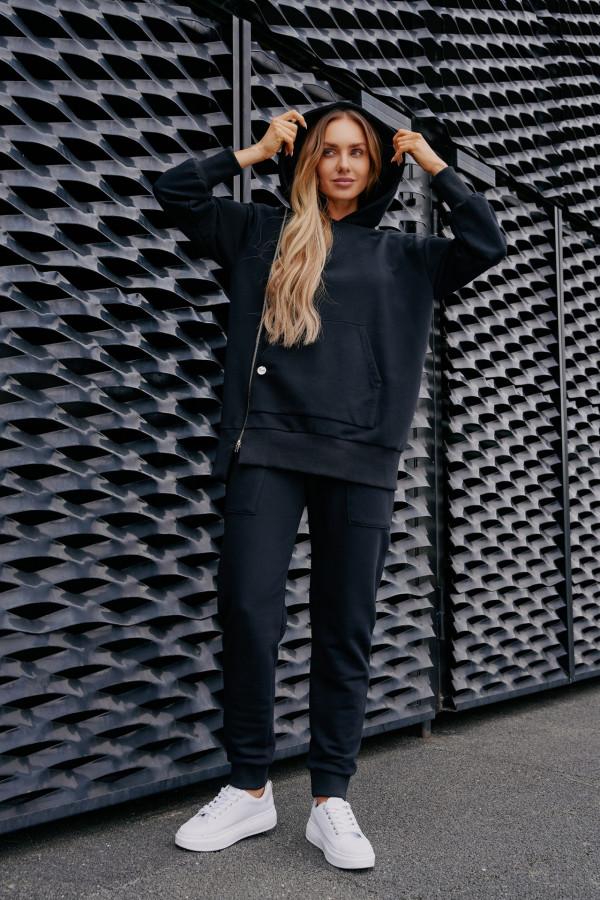 Spodnie dresowe z kieszeniami MIAMI czerń
