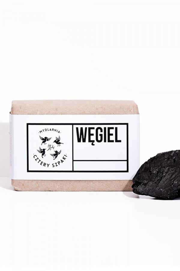 Mydło WĘGIEL z węglem aktywnym do cery trądzikowej