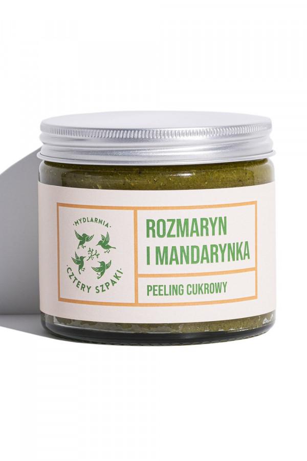 Peeling cukrowy ROZMARYN I MANDARYNKA