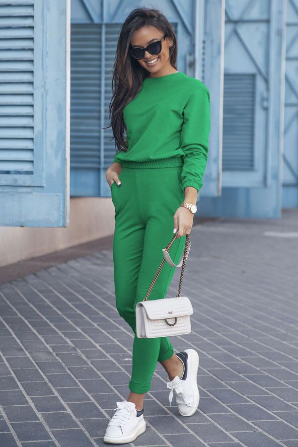 Komplet dresowy CLASSIC bottega green