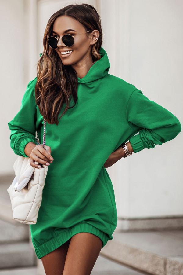 Dresowa sukienka VERA bottega green