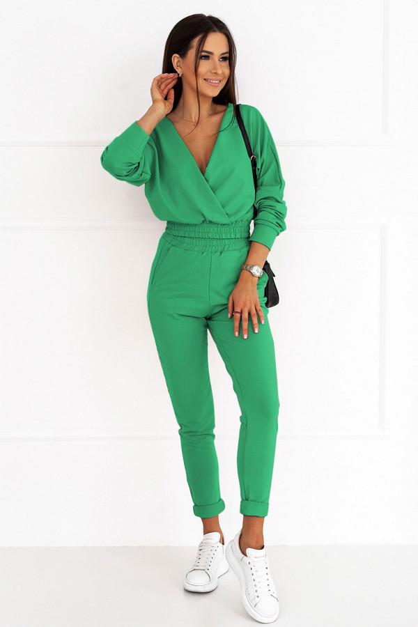 Komplet dresowy PERFECT bottega green